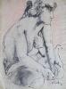 1961 - Antonio Siciliano - Studio di figura - 1961
